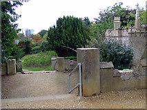 TQ1979 : Steps in Gunnersbury Park by Thomas Nugent