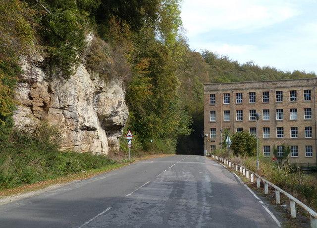 Road towards Mill No 3, Pleasley Vale