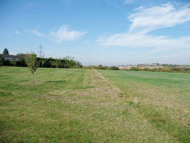 Footpath to South Elmsall