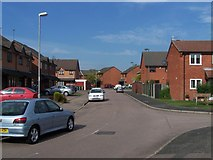 SO9599 : Lakeside Close, Willenhall by Geoff Pick