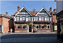 SU3521 : The Abbey Hotel, Church Street by Peter Facey