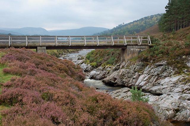 Last bridge over the Feshie