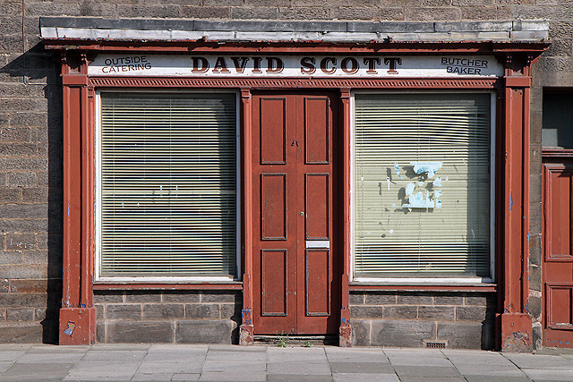 An Old Shop Front At Berwick Upon Tweed 169 Walter Baxter Cc