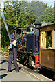 SH5848 : Taking on Water at Beddgelert by Peter Trimming