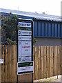 TM2850 : Deben Way Sign by Adrian Cable