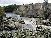 SE0063 : Linton Falls from the Tin Bridge by Andrew Curtis