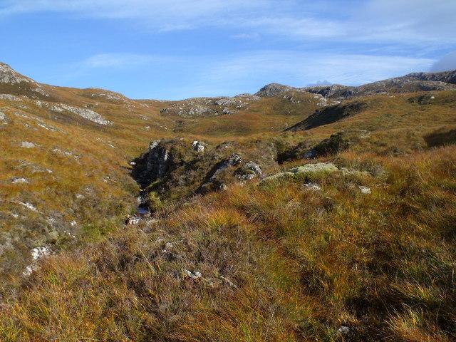 Allt Mor's upper drainage near Kishorn