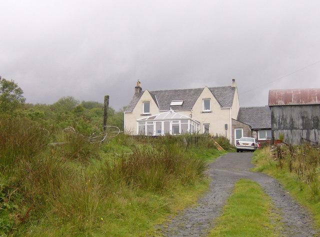 Mamore Farm, Rahane - hill farm and former SYHA youth hostel