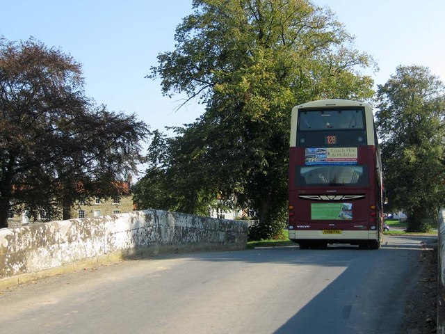 The 128 bus service