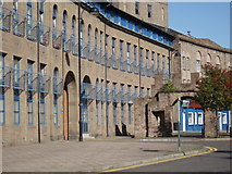 NO4030 : Former Jute Mill at Wishart Arch by Douglas Nelson