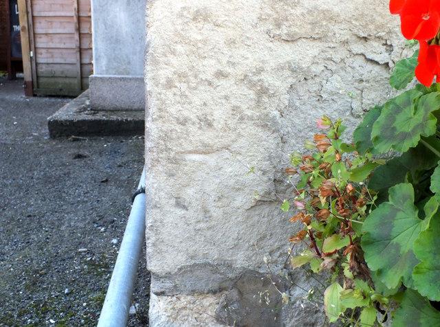 Bench mark, Plough Inn