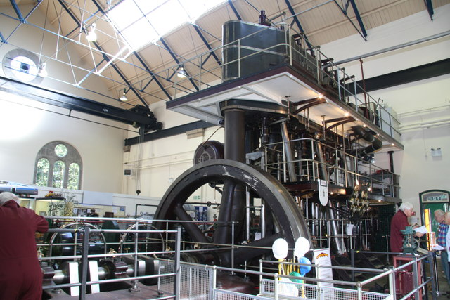 Museum of Power, Langford - steam engine