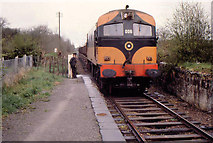 N8572 : Train, Gibbstown near Navan by Albert Bridge