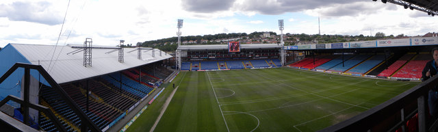View from upper tier of Holmesdale Stand, Selhurst Park
