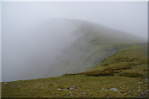NY3228 : Mist clearing from Atkinson Pike by Bill Boaden