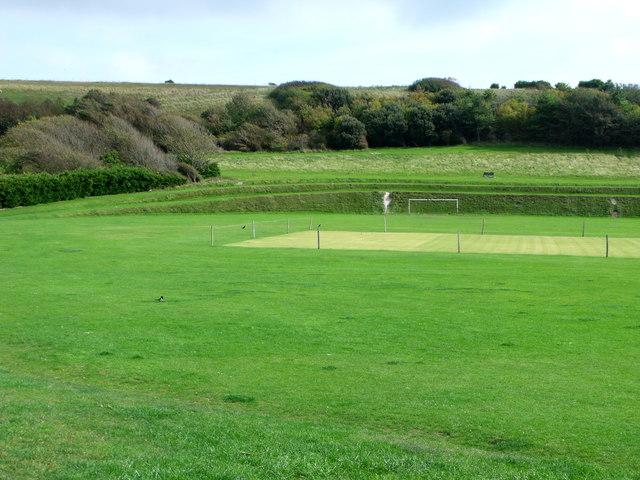Cricket ground, East Brighton Park