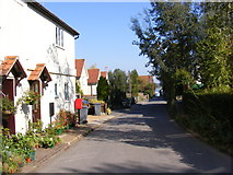 TM2844 : Cliff Road, Waldringfield & 1, Hasketon Road Postbox by Geographer