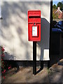 TM2844 : 1, Hasketon Road Postbox by Adrian Cable