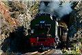 SH5946 : Welsh Highland Railway Train, Aberglaslyn, Gwynedd by Peter Trimming