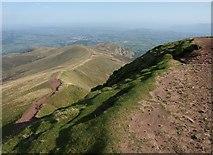 SO0121 : Edge of summit area, Pen y Fan by Derek Harper