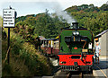 SH5848 : Beddgelert Station, Gwynedd by Peter Trimming