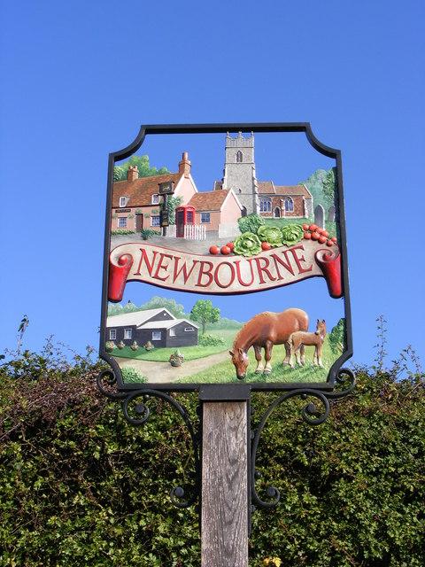 Newbourne Village Sign