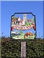 TM2743 : Newbourne Village Sign by Geographer