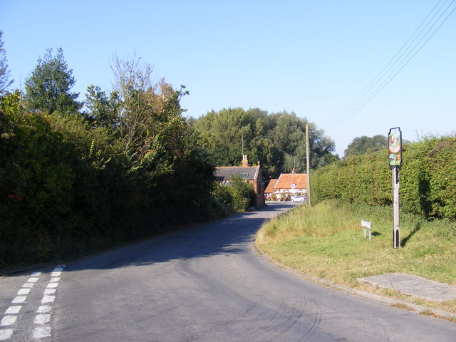 The Street, Newbourne