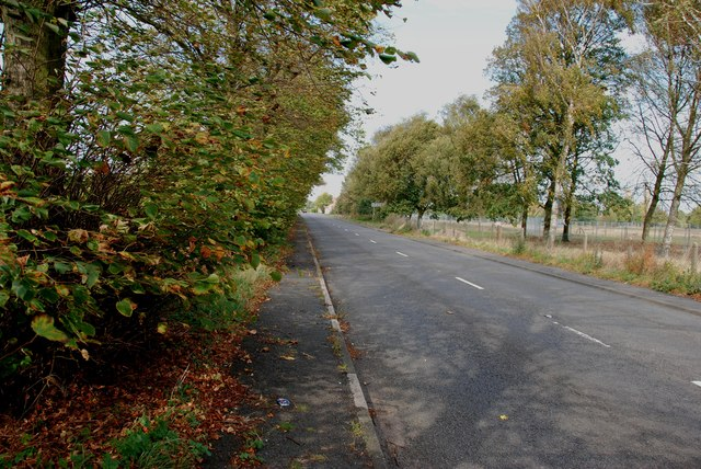 The A51 Looking Towards Lichfield