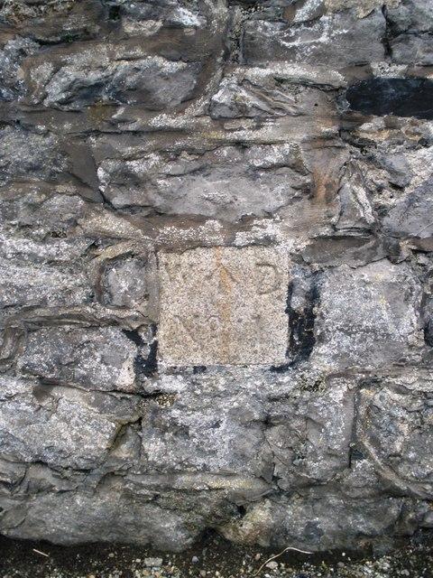 Boundary marker No. 1 in Castletown