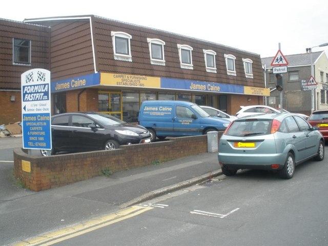 Retail outlet, Demesne Road, Douglas