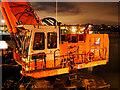 J5082 : Dredger, Bangor harbour by Rossographer