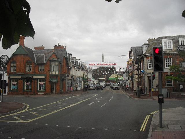 Crossroads in Babbacombe