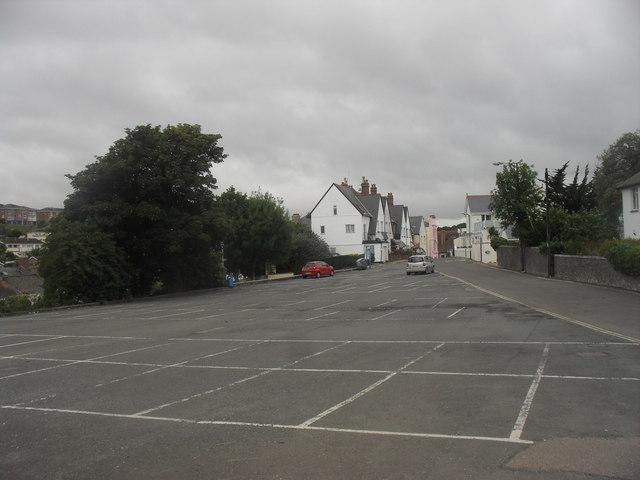 Walls Hill car Park, Babbacombe