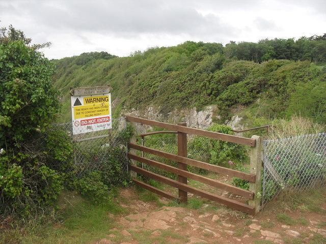 Warning: Do not enter