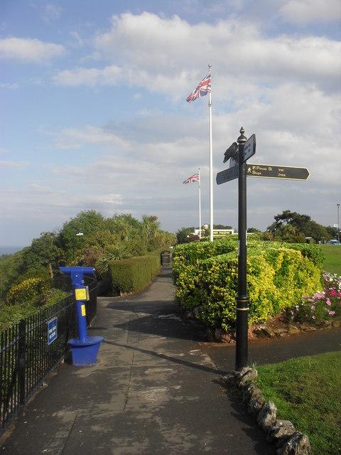 Path along Babbacombe Downs