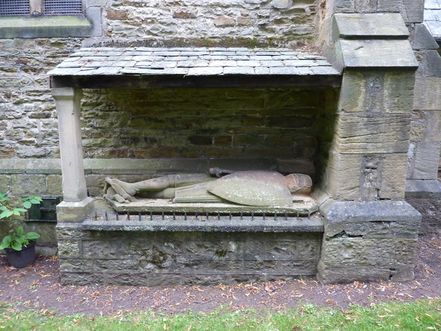 Whitworth Parish Church, Tomb