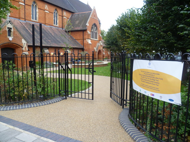The Community Garden of St Andrew's Church, Earlsfield