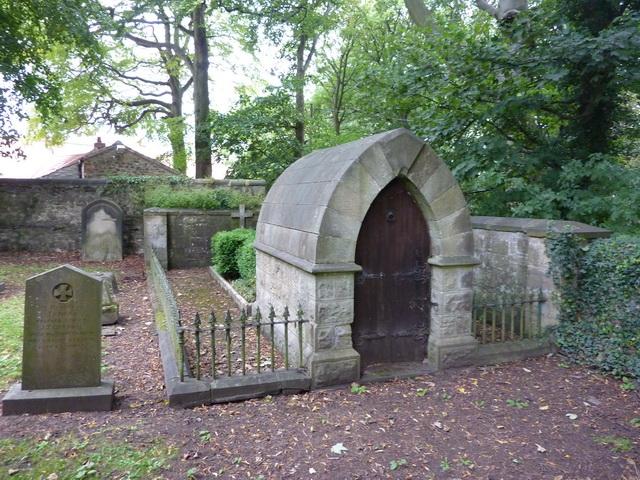 Whitworth Parish Church, Grave