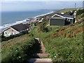 SX3952 : Coast path at Freathy by Derek Harper