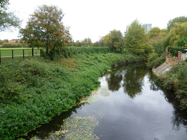 The River Wandle from Kimber Road