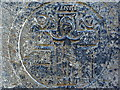 L9802 : Carved altar stone: Teampall Chaomháin by louise price