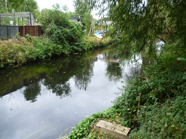 River Wandle from the Wandle Trail