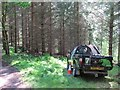 NT2641 : Forestry Commission vehicle by Richard Webb