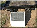 SK6435 : Commemorative plaque by Alan Murray-Rust