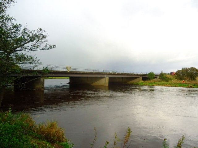 Stirling, M9 bridge across Forth