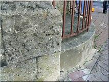 SU1484 : Ordnance Survey bench-mark, Emlyn Square, Swindon by Brian Robert Marshall