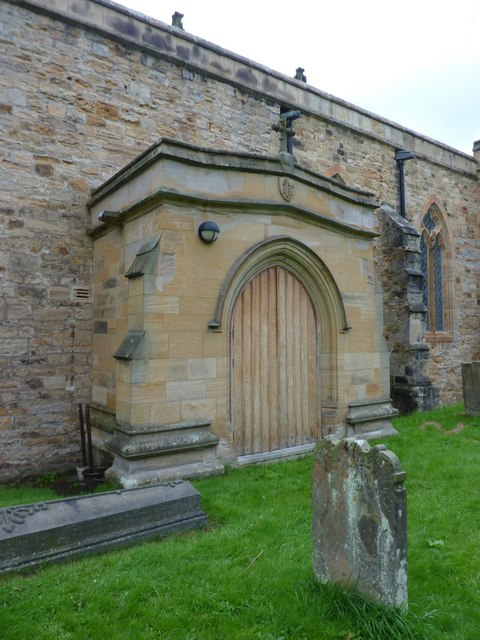 St Brandon Church, Brancepeth, Porch