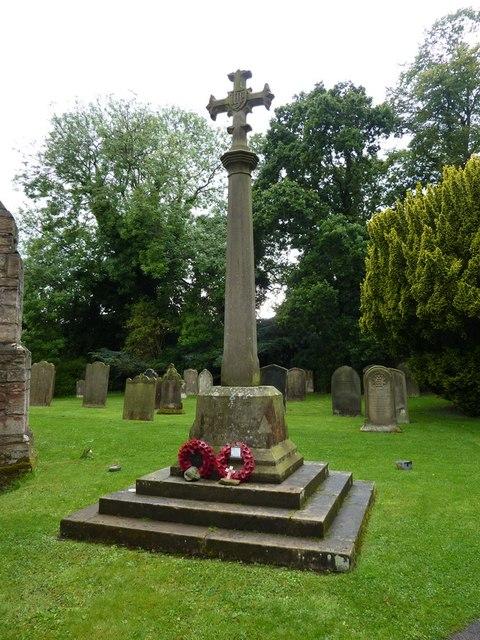 St Brandon Church, Brancepeth, War Memorial