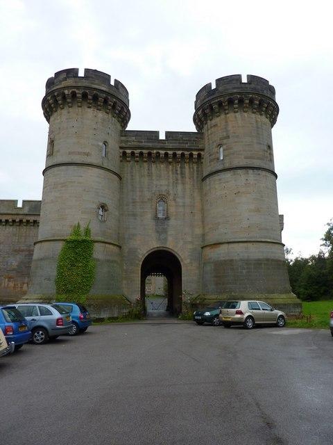 Brancepeth Castle, Entrance